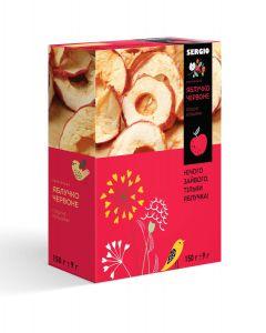 Яблоки красные кольцами, 150г