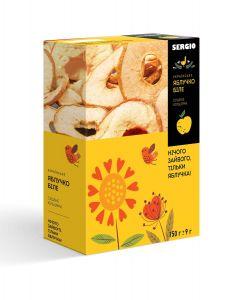 Яблоки белые сушеные кольцами, 150г